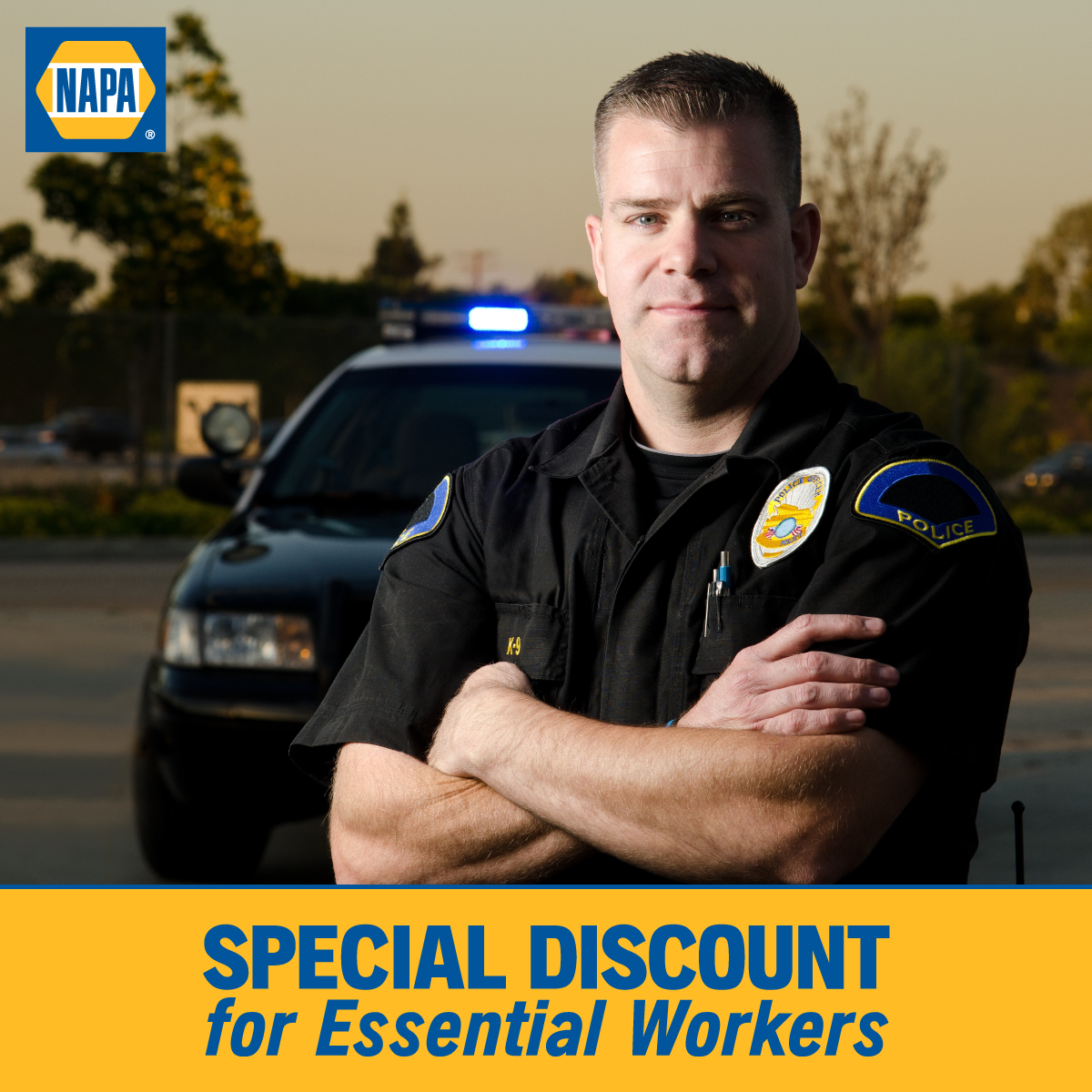 Discounts for Essential Workers