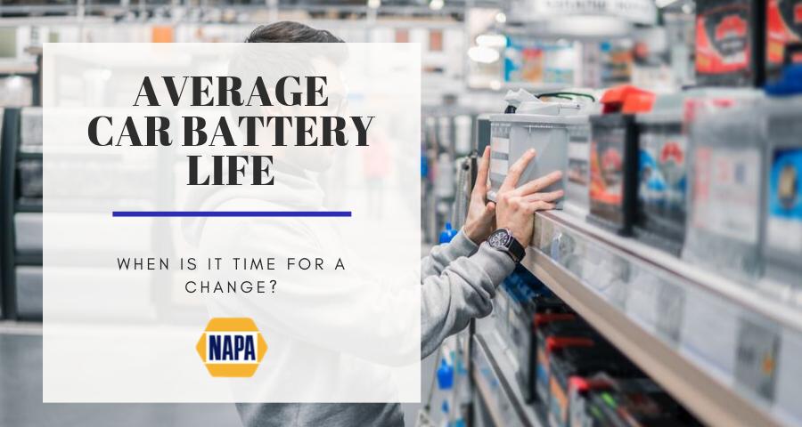 Average Car Battery Life >> Napa Barron Service Parts